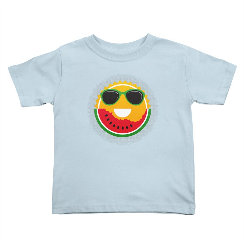 Sunny and tasteful Kids Toddler T-Shirt by magicmagic