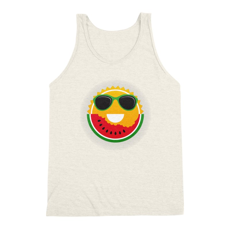 Sunny and tasteful Men's Triblend Tank by magicmagic