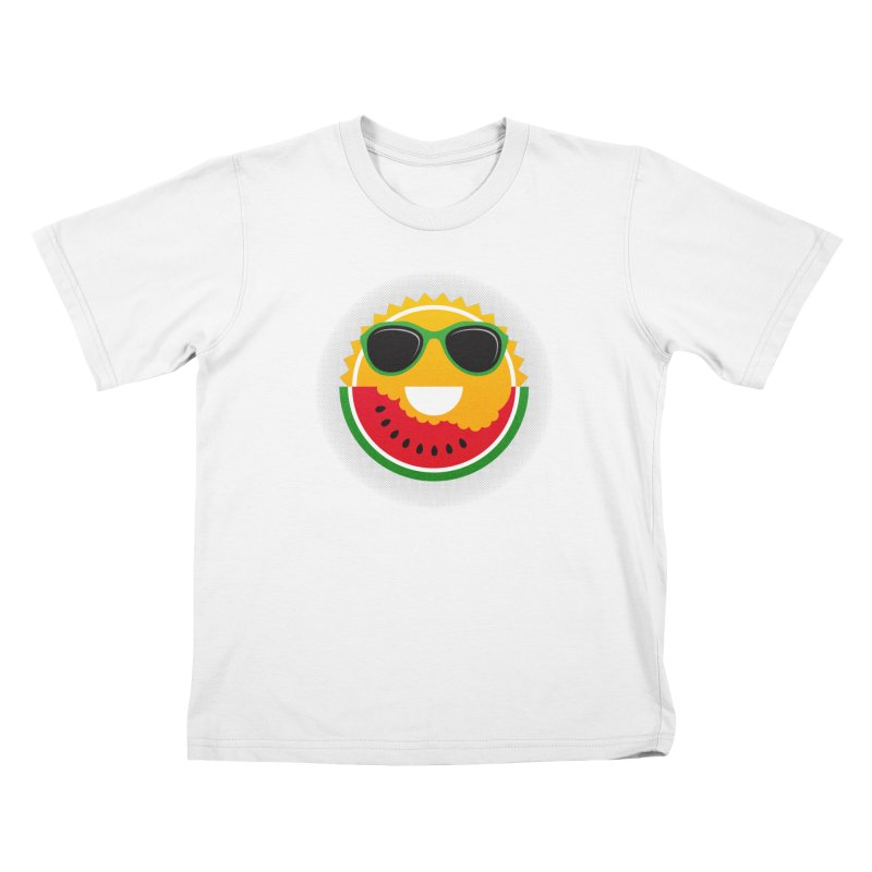 Sunny and tasteful Kids T-Shirt by magicmagic
