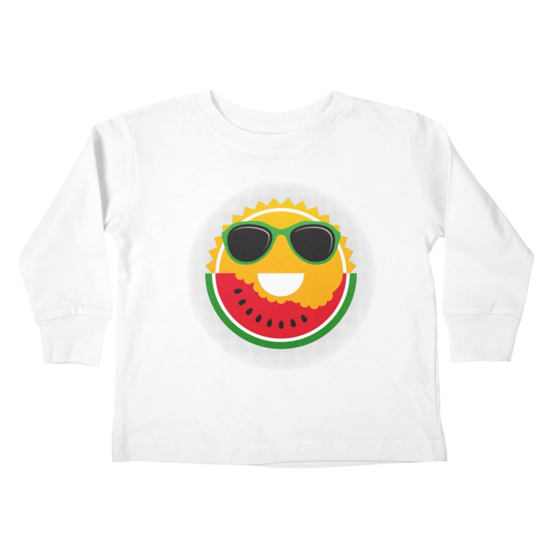 Sunny and tasteful Kids Toddler Longsleeve T-Shirt by magicmagic