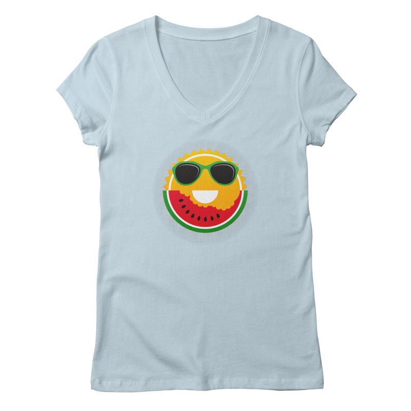 Sunny and tasteful Women's V-Neck by MagicMagic Artist Shop