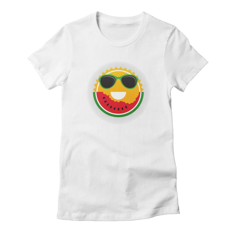 Sunny and tasteful Women's Fitted T-Shirt by magicmagic