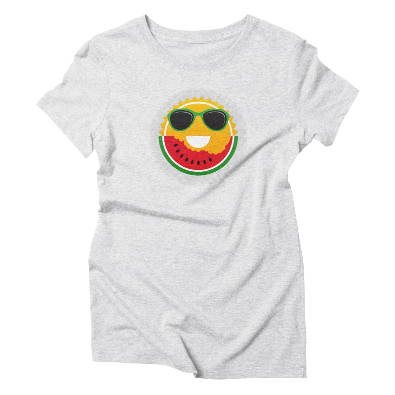 Sunny and tasteful Women's Triblend T-Shirt by magicmagic