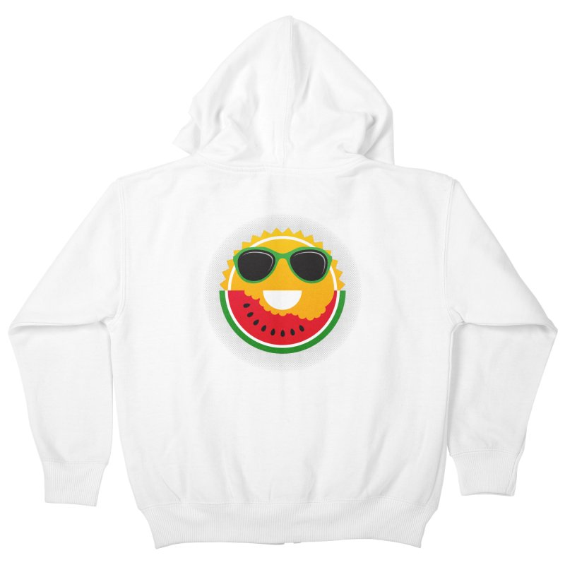 Sunny and tasteful Kids Zip-Up Hoody by MagicMagic Artist Shop