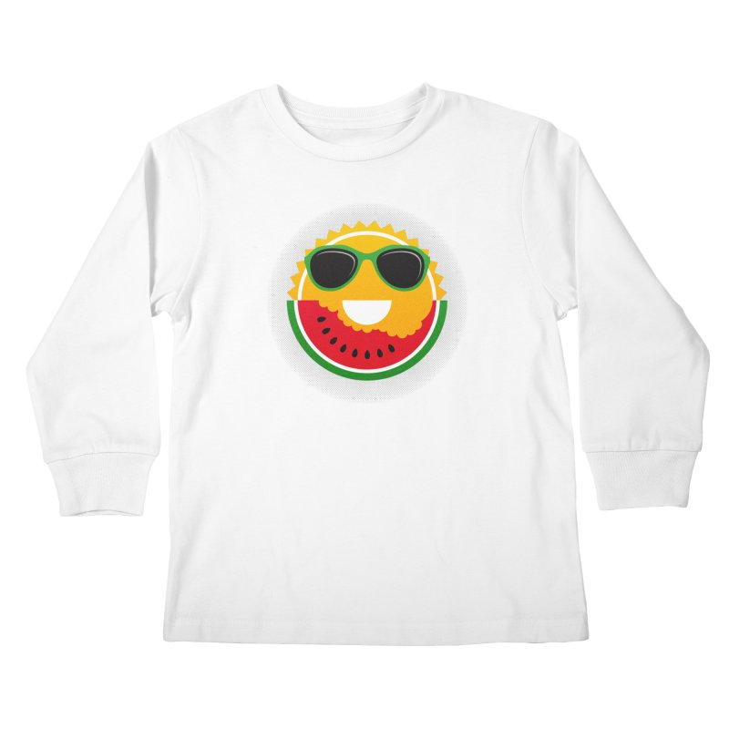 Sunny and tasteful Kids Longsleeve T-Shirt by magicmagic