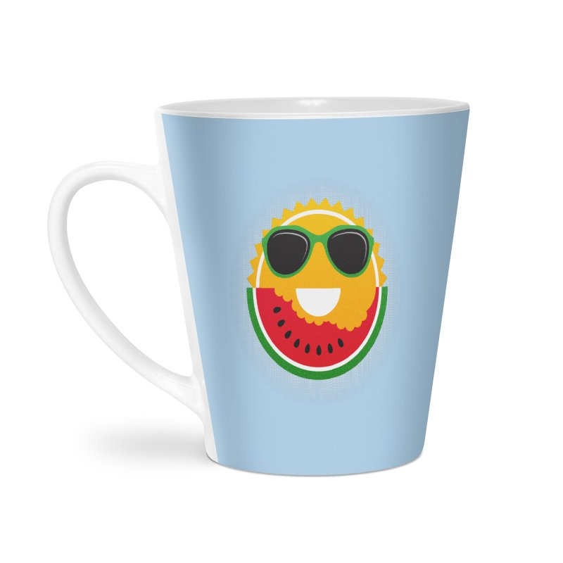 Sunny and tasteful Accessories Latte Mug by magicmagic