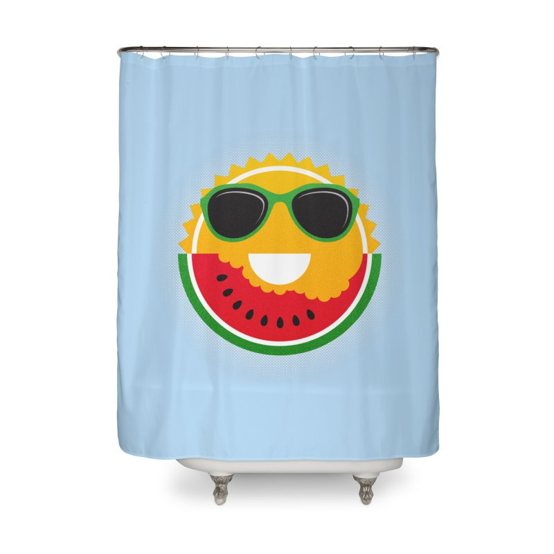 Sunny and tasteful Home Shower Curtain by Magic Magic Artist Shop