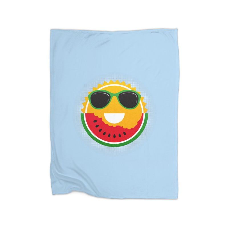 Sunny and tasteful Home Fleece Blanket by MagicMagic Artist Shop