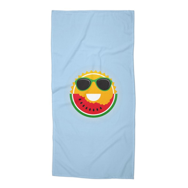 Sunny and tasteful Accessories Beach Towel by MagicMagic Artist Shop