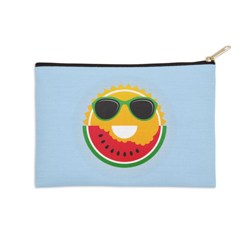 Sunny and tasteful Accessories Zip Pouch by magicmagic