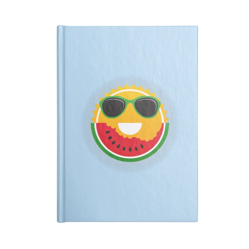 Sunny and tasteful Accessories Lined Journal Notebook by magicmagic