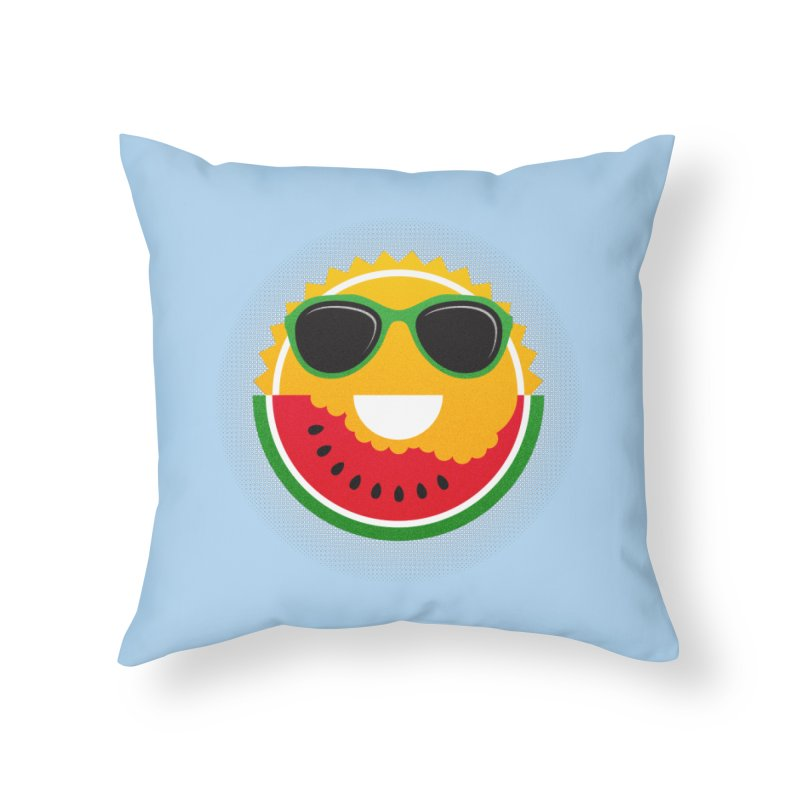 Sunny and tasteful Home Throw Pillow by magicmagic