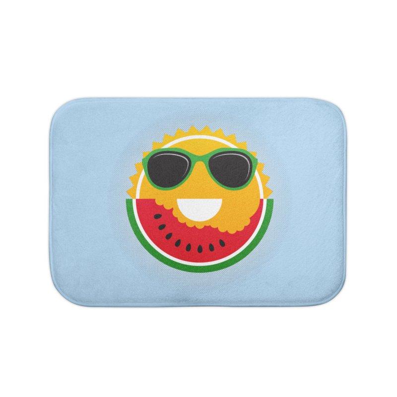 Sunny and tasteful Home Bath Mat by magicmagic