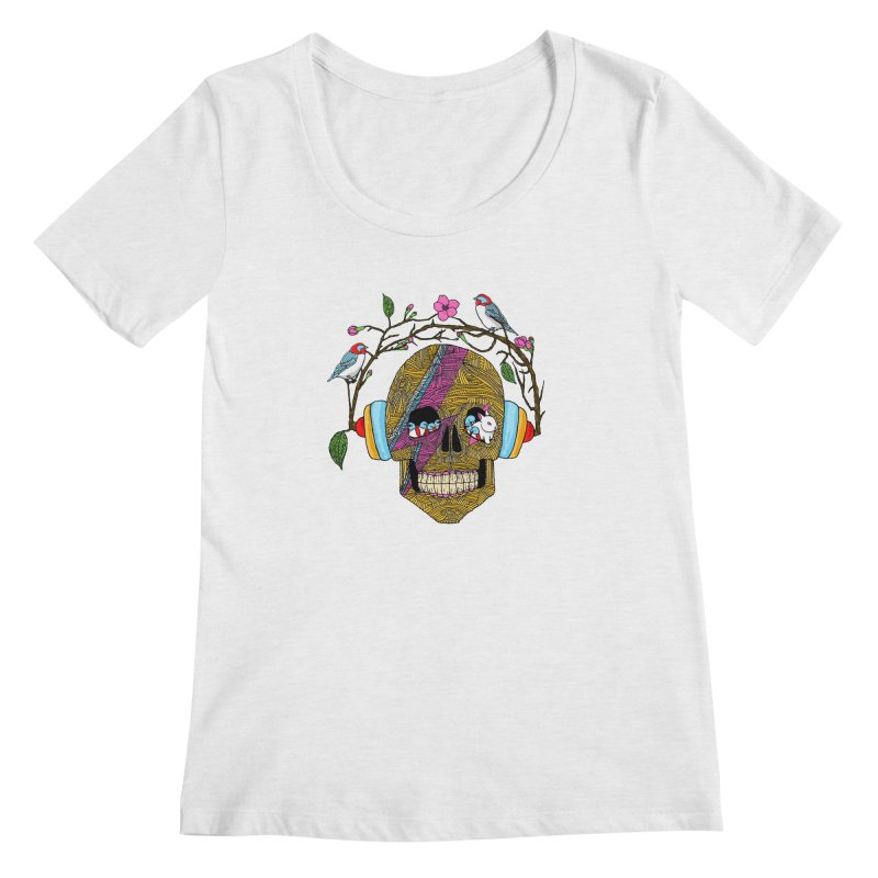 Life Women's Scoopneck by MagicMagic Artist Shop