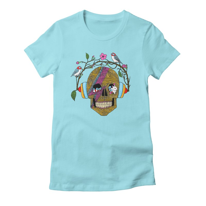 Life Women's Fitted T-Shirt by magicmagic