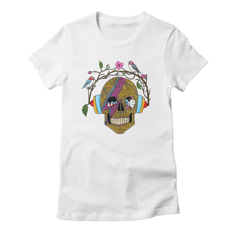 Life Women's Fitted T-Shirt by MagicMagic Artist Shop