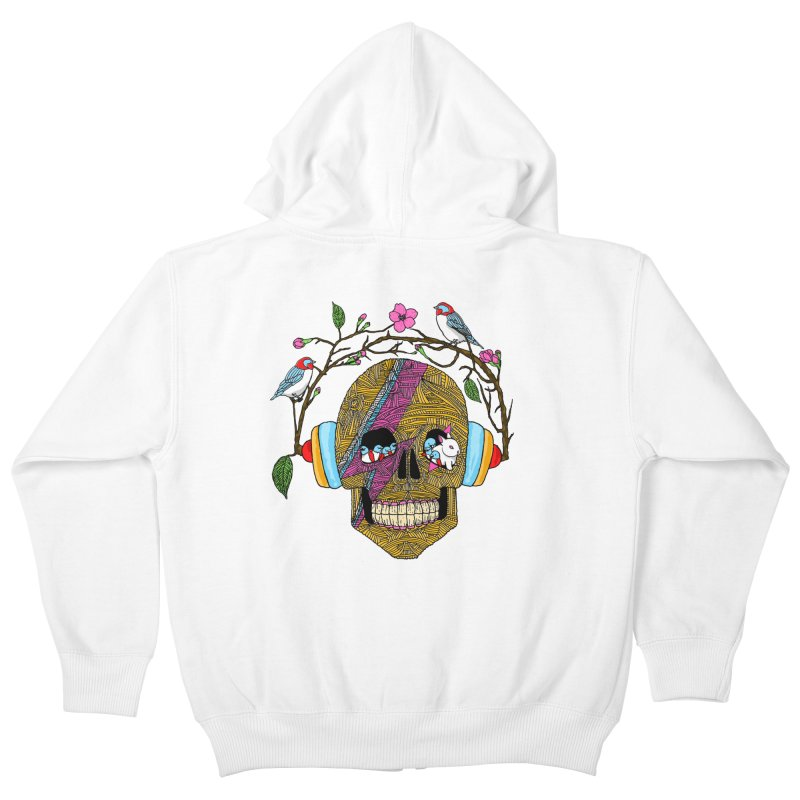 Life Kids Zip-Up Hoody by MagicMagic Artist Shop