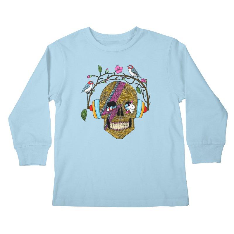 Life Kids Longsleeve T-Shirt by magicmagic