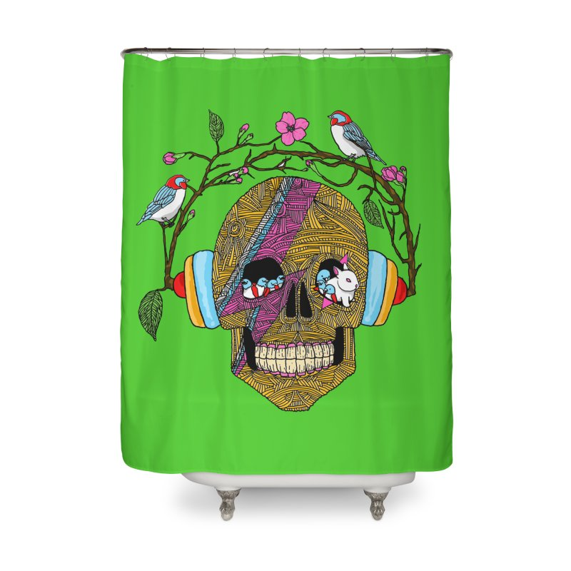 Life Home Shower Curtain by magicmagic