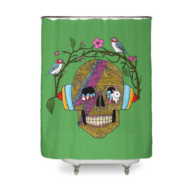 Life Home Shower Curtain by MagicMagic Artist Shop