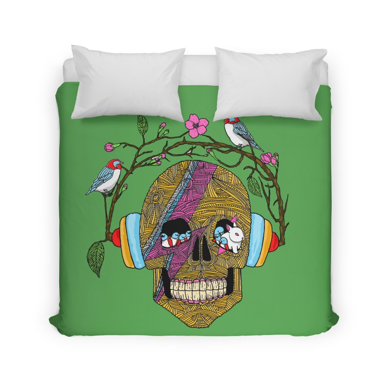 Life Home Duvet by MagicMagic Artist Shop