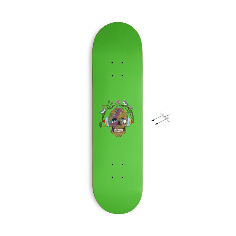Life Accessories With Hanging Hardware Skateboard by magicmagic