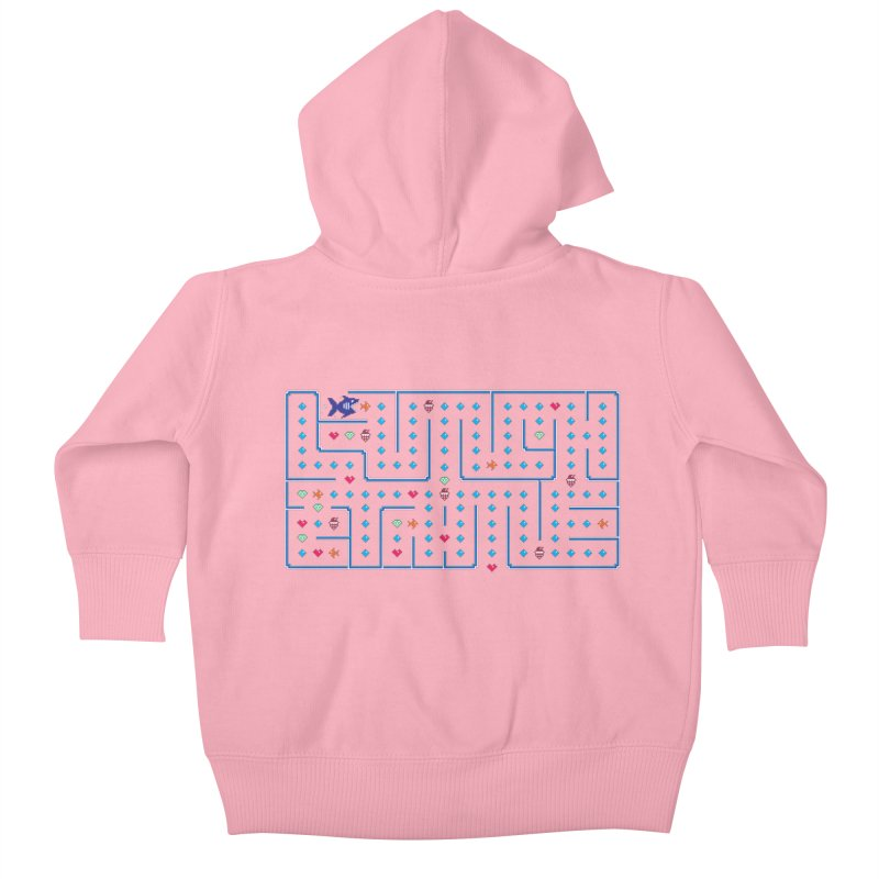 Lunch time Kids Baby Zip-Up Hoody by MagicMagic Artist Shop