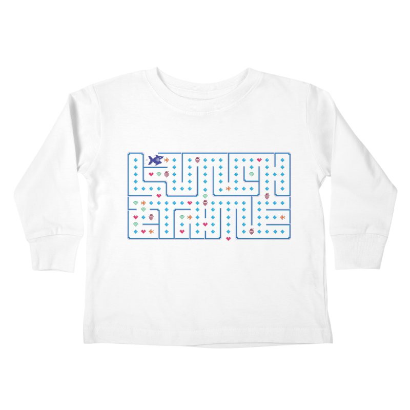 Lunch time Kids Toddler Longsleeve T-Shirt by MagicMagic Artist Shop