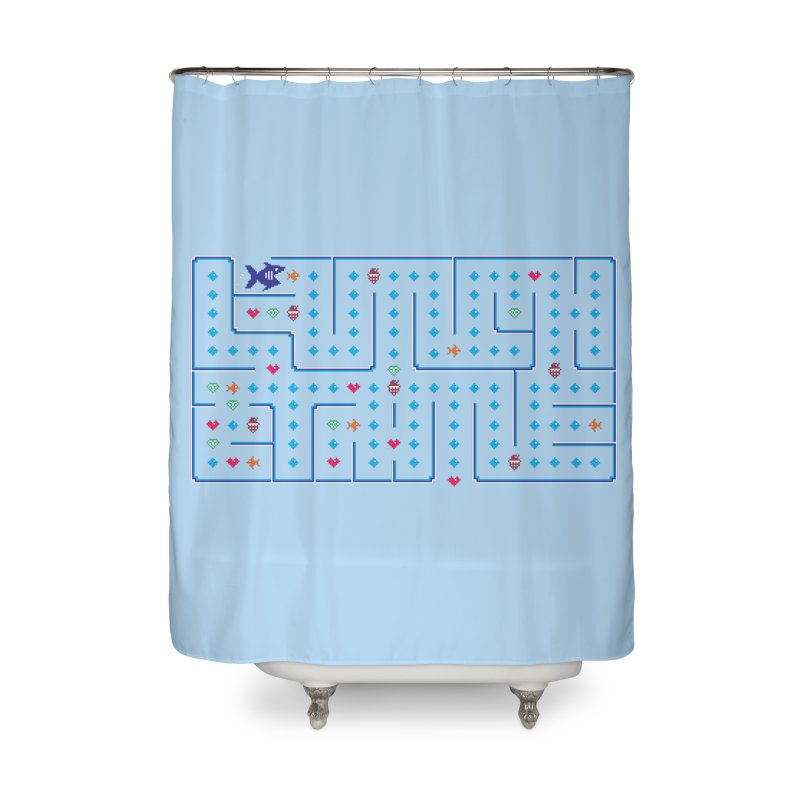 Lunch time Home Shower Curtain by MagicMagic Artist Shop