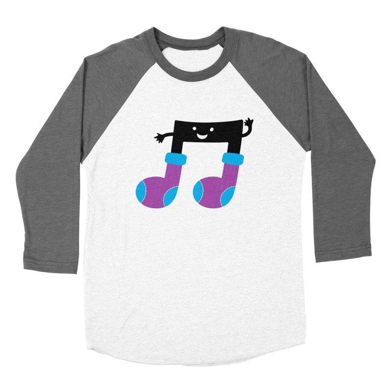 Warm music Women's Baseball Triblend Longsleeve T-Shirt by magicmagic