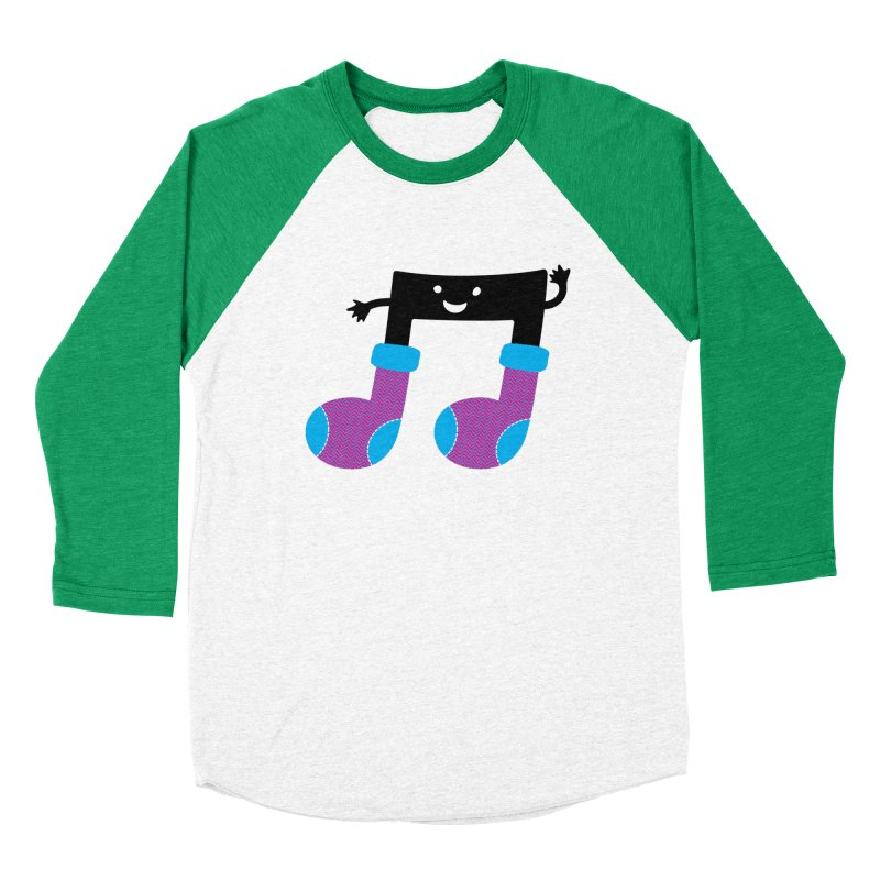 Warm music Women's Baseball Triblend T-Shirt by MagicMagic Artist Shop