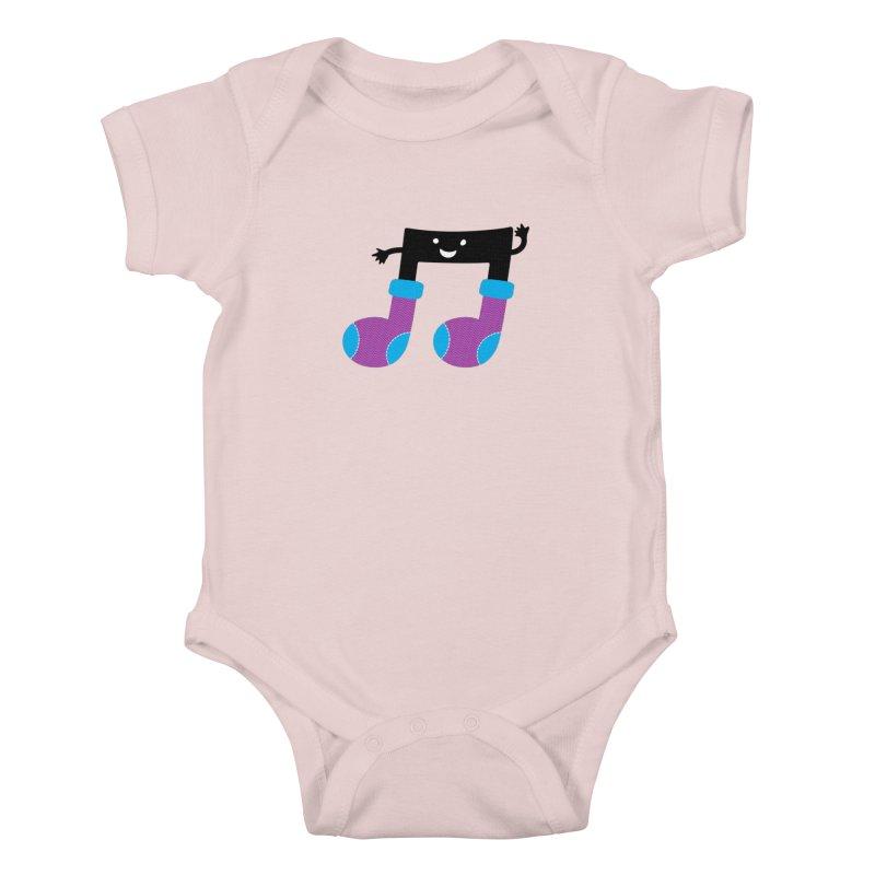 Warm music Kids Baby Bodysuit by magicmagic