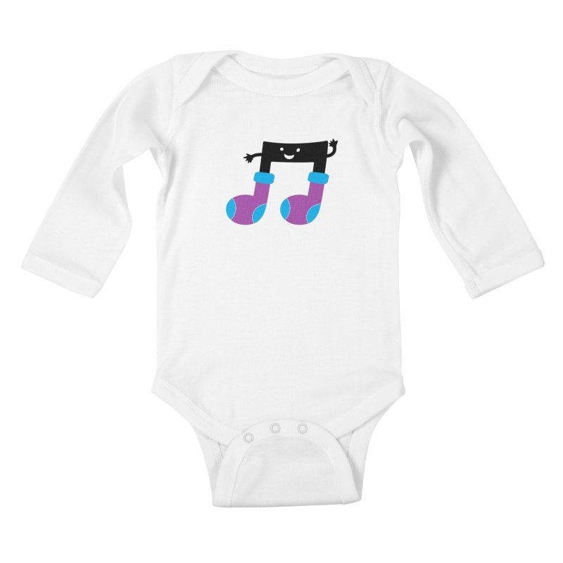 Warm music Kids Baby Longsleeve Bodysuit by magicmagic
