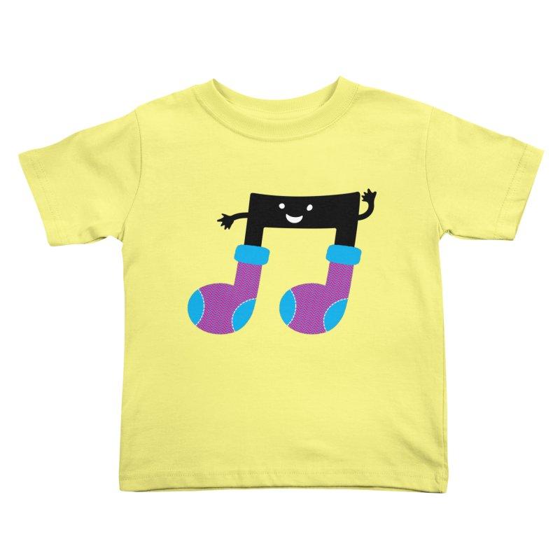 Warm music Kids Toddler T-Shirt by magicmagic