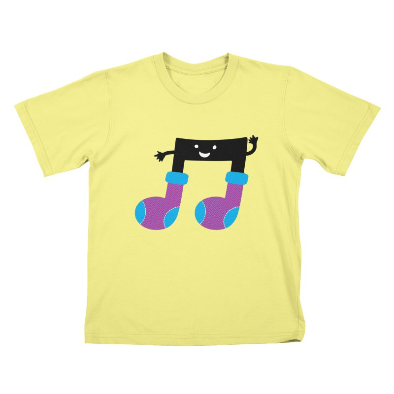 Warm music Kids T-shirt by MagicMagic Artist Shop