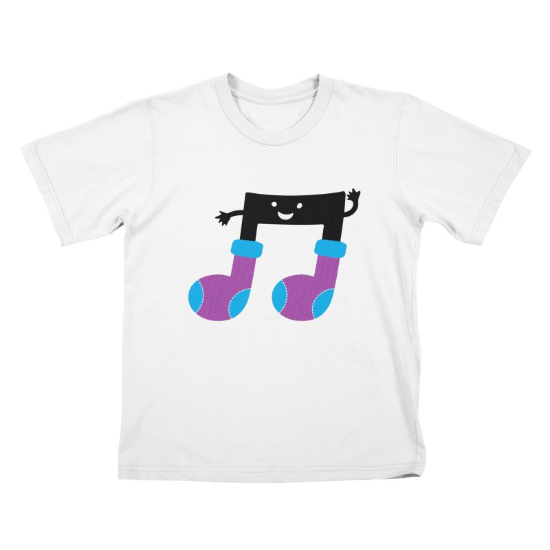 Warm music Kids T-Shirt by magicmagic