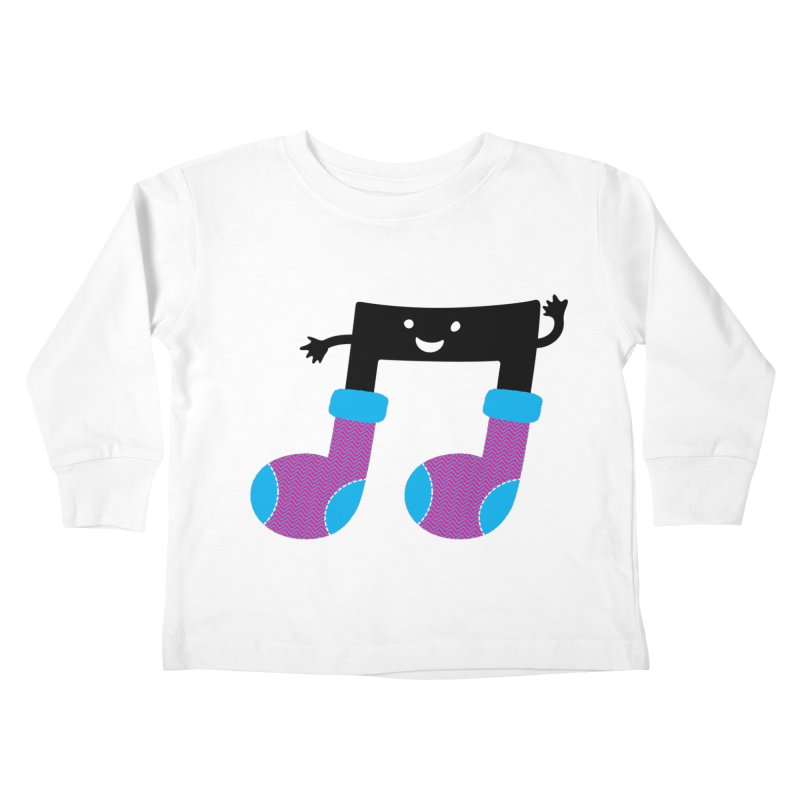 Warm music Kids Toddler Longsleeve T-Shirt by magicmagic