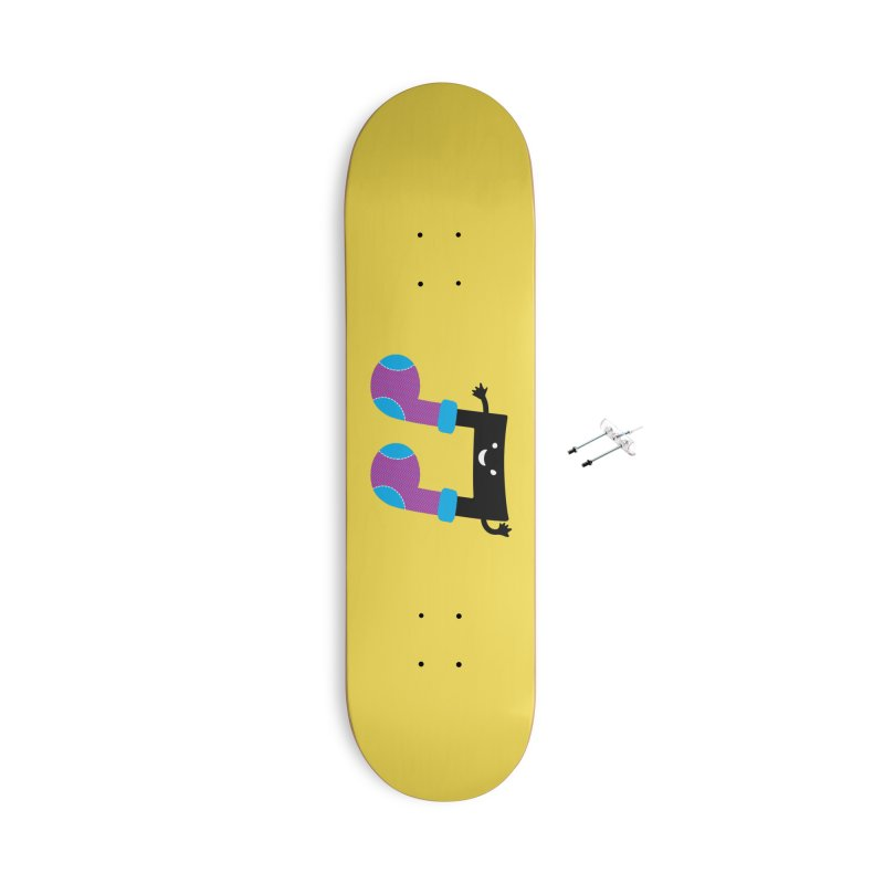 Warm music Accessories With Hanging Hardware Skateboard by magicmagic