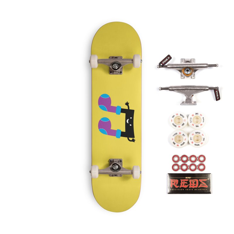 Warm music Accessories Complete - Pro Skateboard by magicmagic