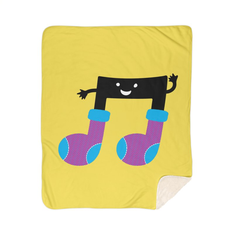 Warm music Home Sherpa Blanket Blanket by magicmagic