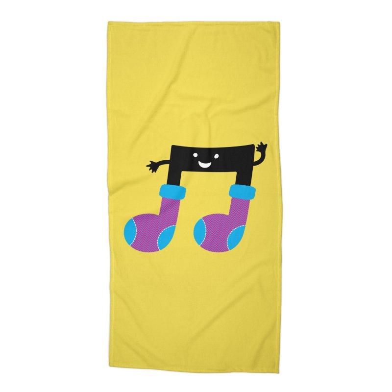 Warm music Accessories Beach Towel by MagicMagic Artist Shop