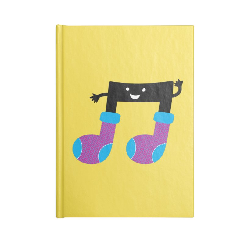 Warm music Accessories Lined Journal Notebook by magicmagic