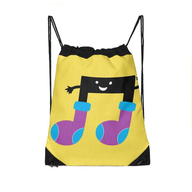 Warm music Accessories Drawstring Bag Bag by magicmagic