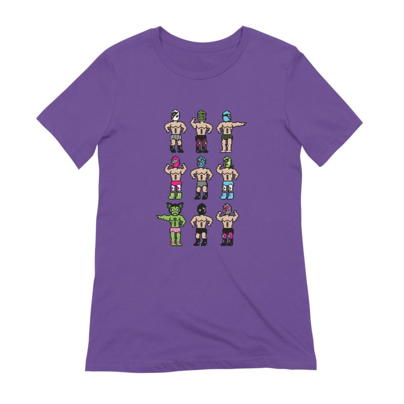 Wrestling maniacs Women's Extra Soft T-Shirt by magicmagic
