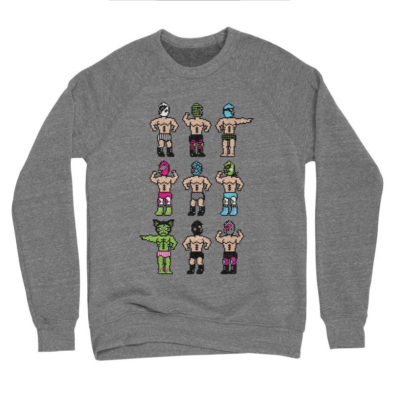 Wrestling maniacs Women's Sponge Fleece Sweatshirt by magicmagic