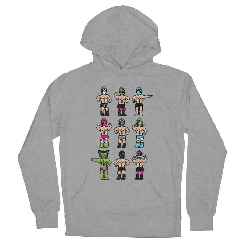Wrestling maniacs Men's Pullover Hoody by MagicMagic Artist Shop
