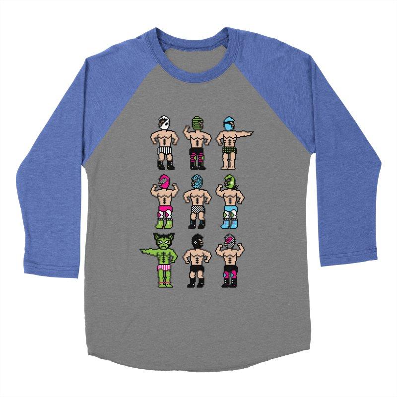Wrestling maniacs Women's Baseball Triblend T-Shirt by MagicMagic Artist Shop