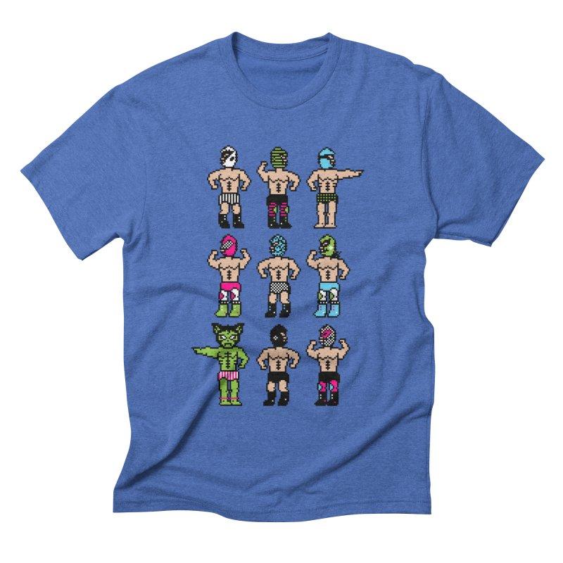Wrestling maniacs Men's Triblend T-shirt by MagicMagic Artist Shop