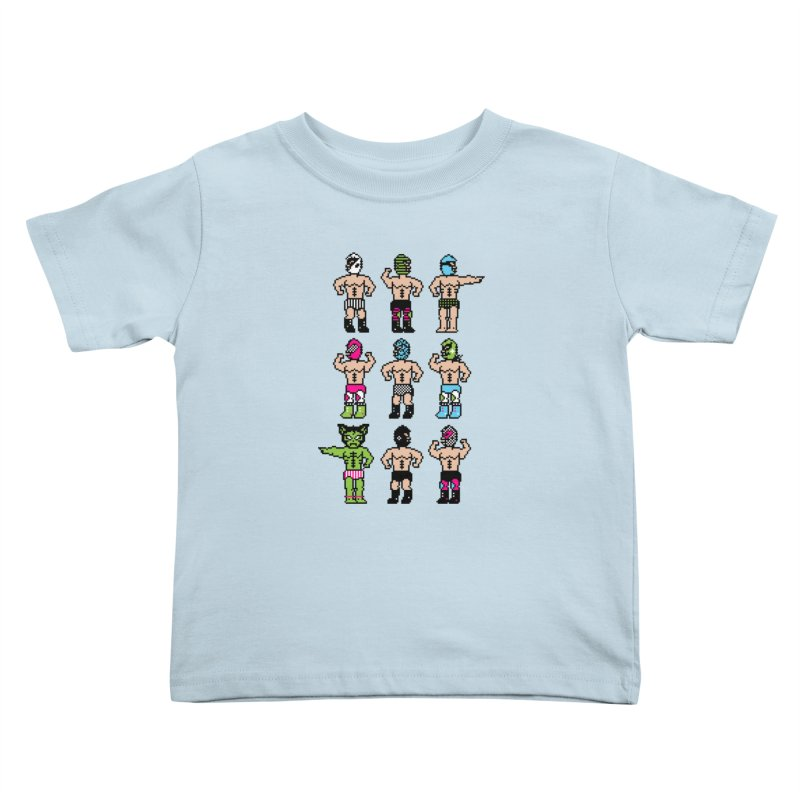 Wrestling maniacs Kids Toddler T-Shirt by magicmagic