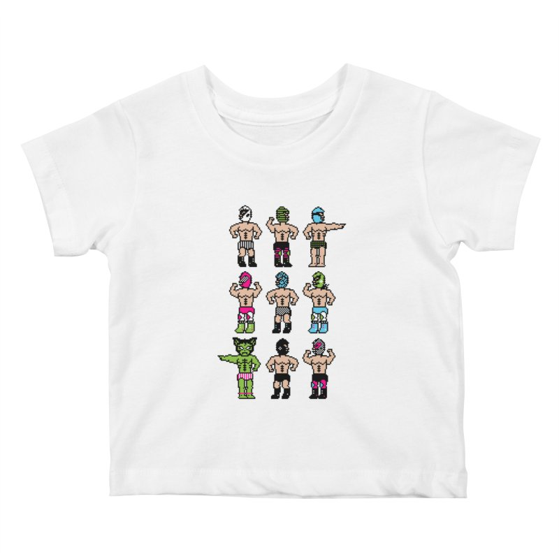 Wrestling maniacs Kids Baby T-Shirt by MagicMagic Artist Shop